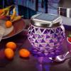 Lampe de table solaire brillante rose