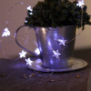 Guirlande sur piles micro LED étoiles