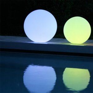 Boule lumineuse led blog eclairage design for Sphere led exterieur