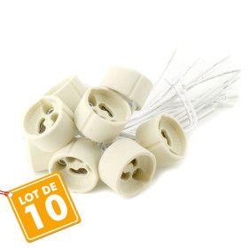 Pack de dix douilles GU10
