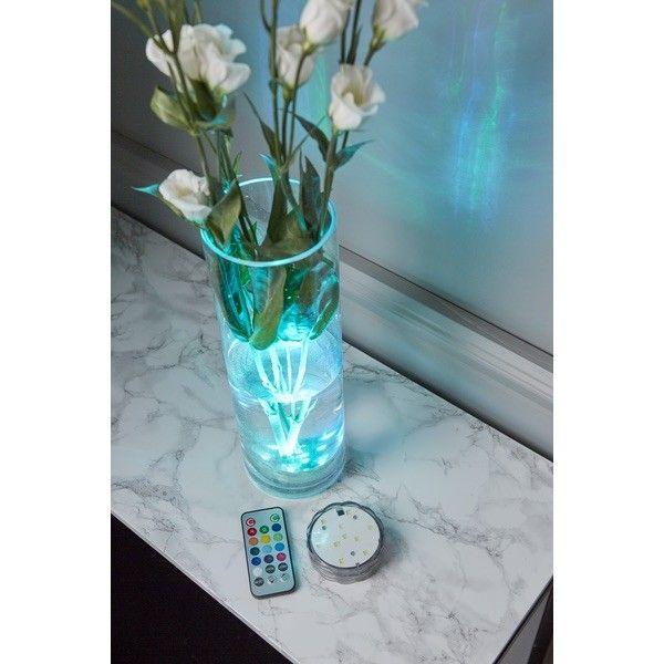 Base LED étanche RGB multicore avec télécommande