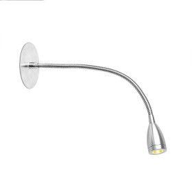 Applique encastré pour chambre LOKE-3 LED chrome