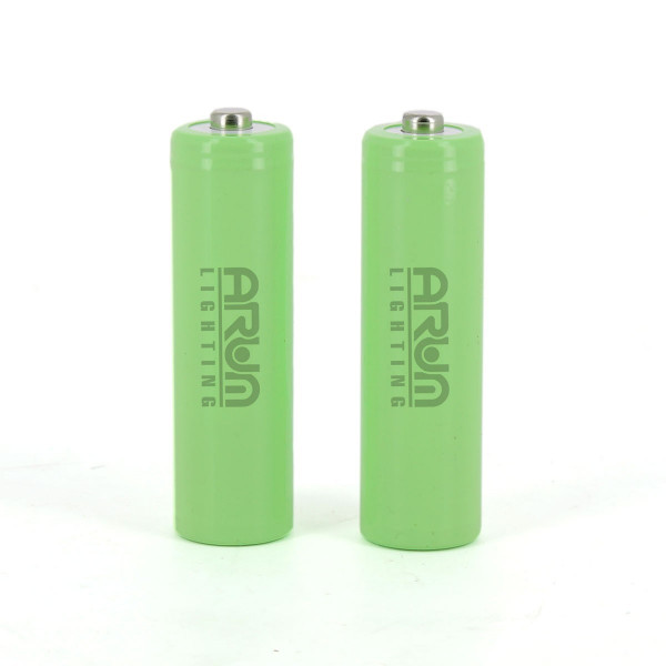 2 batteries piles solaire rechargeables LR3 AAA - Ni-MH 750 mAh