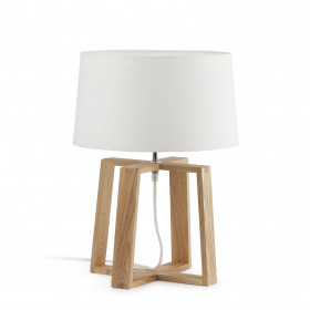 Lampe de table BLISS blanche