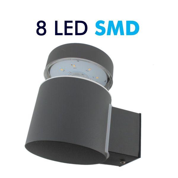 Aplicar Externa LED 6W Aumento de OSLO 600Lm
