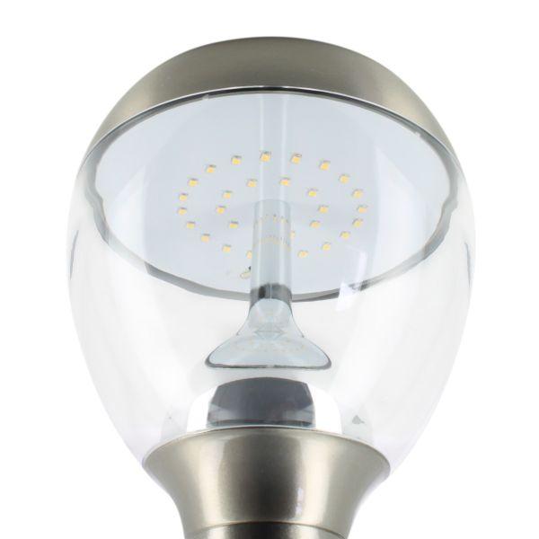 Applique montante LED BASTIDE en inox 450 Lumens