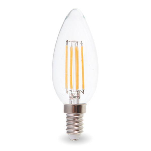 ampoule led e14 4w 2700k filament eclairage design. Black Bedroom Furniture Sets. Home Design Ideas