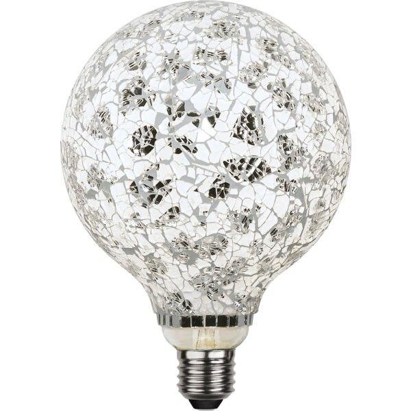 Ampoule LED E27 Déco Mosaïque 4W Grise