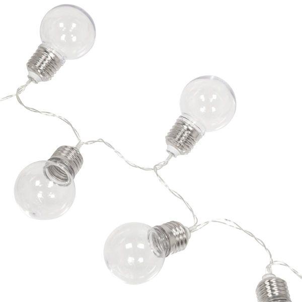 guirlande led d co 10 ampoules led sur piles eclairage design. Black Bedroom Furniture Sets. Home Design Ideas