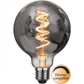 Ampoule E27 G95 Filament Dimmable globe SMOKE