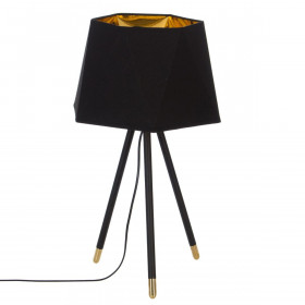 """Lampe trépied """"Dori"""" en métal - E14 - 54cm"""