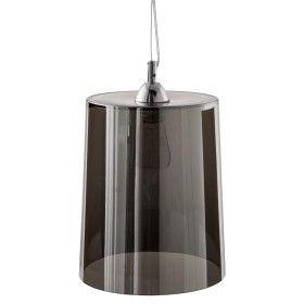 Suspension Verre Teinté Noir - E27 - 35cm