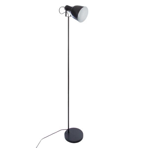Lampadaire Noir En Metal E14 150 Cm Eclairage Design