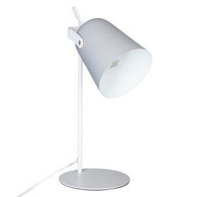 """Lampe grise """"Lety"""" en métal - E14 - 34 cm"""