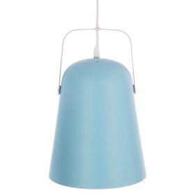 """Suspension bleue """"Lety"""" en métal - E27 - 33cm"""