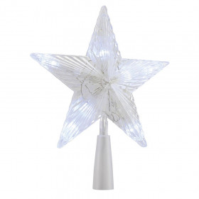 Cimier étoile LED avec 3 LED Flash