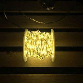Guirlande de 30 mètres 600 Micro LED Blanc chaud