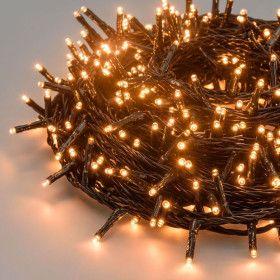 Guirlande 25m 360 LED blanc chaud traditionnel