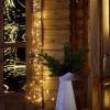 Guirlande Cascade 100 Microled Blanc Chaud 1 mètre et 4 mètres de câble