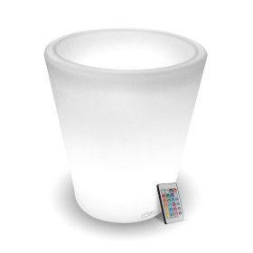 Pot de fleur Cylindrique rechargeable 80cm Intérieur/Extérieur