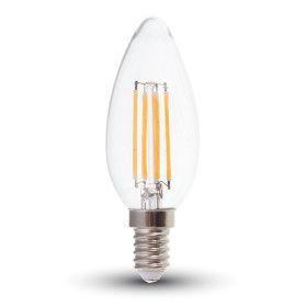 Ampoule E14 Filament 4W VTAC Blanc Neutre