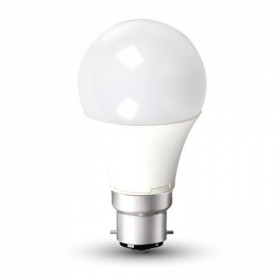 Ampoule LED B22 9W 6000K Eq 60W
