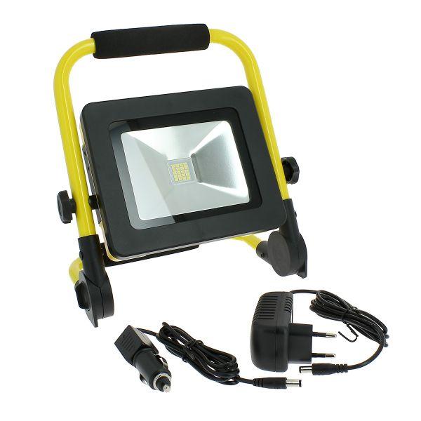 Projecteur LED 20W rechargeable pour chantier