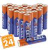 Lot de 24 Piles AAA LR3 Ultra Alcaline 1.5V