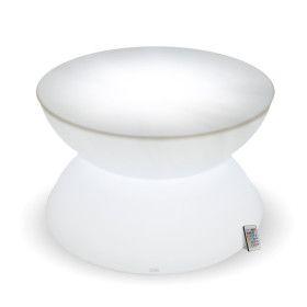Table Basse Lumineuse Rechargable Extérieur