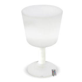 Verre Lumineux LED Rechargeable Extérieur 75 cm