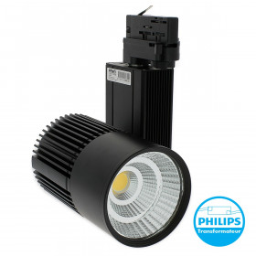 Tracklight 45W pour rail universel 4 Wires Equi. 380W 4000Lm