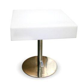 Table Lumineuse Carré Rechargable Extérieur 60 cm