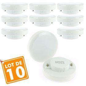 Lot de 10 Ampoules GX53 7w
