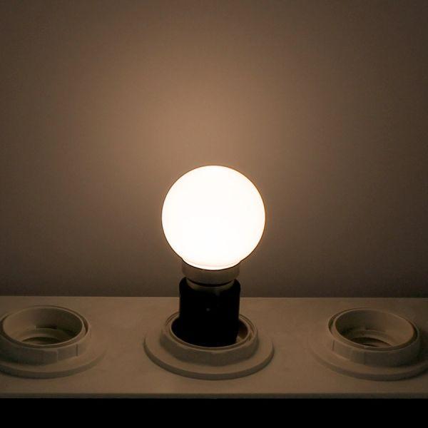 Lot de 10 Ampoules Led Blanc Chaud 1 watt (équivalent à 10 watt) Guirlande Guinguette