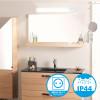 Réglette applique salle de bain LED 8W 900Lm avec Prise