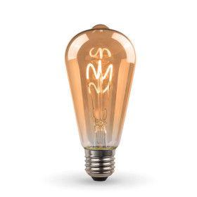 Ampoule LED E27 ST64 Ambrée Filament DécoVintage 2,5W