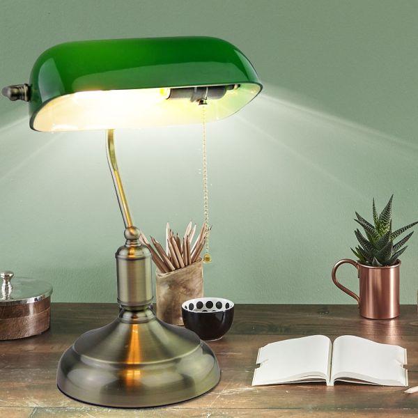 Lampe de Bureau Vintage E27