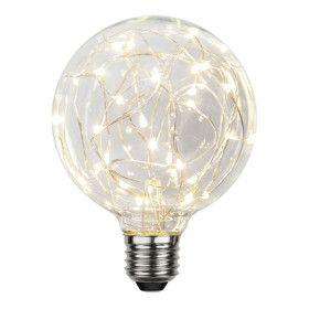 Ampoule Déco LED E27 G95 1,5W Blanc Chaud