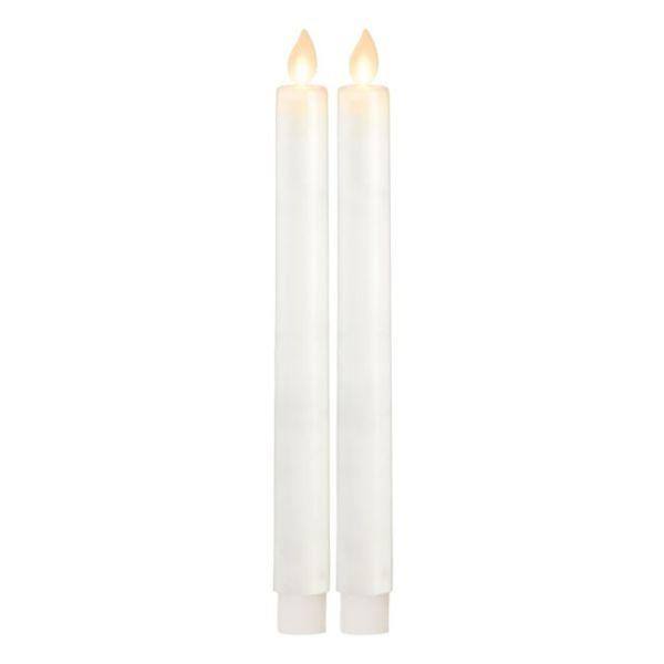 Lot de 2 Bougies LED à pile
