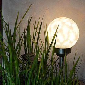 Boule Déco Solaire avec Lumière Rotative