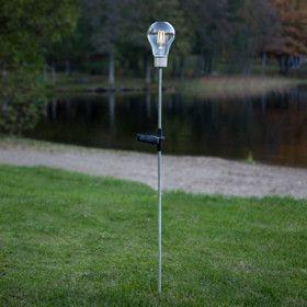 Piquet Solaire Ampoule Filament