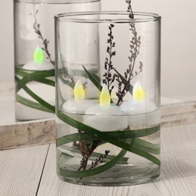Lot de 4 Bougies LED Flottantes sur pile