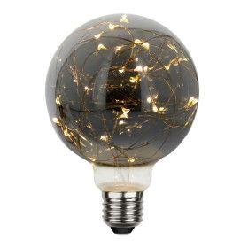 Ampoule Déco Fumé micro LED E27 G95 1,5W Blanc Chaud