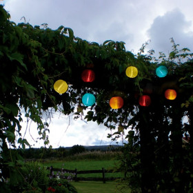 Guirlande LED Solaire de 10 Lampions