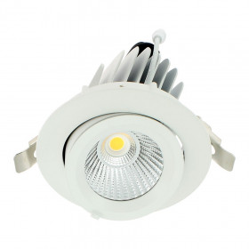 Spot Led escargot COB 20W encastrable orientable