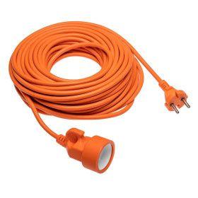 Rallonge électrique 10 mètres Orange