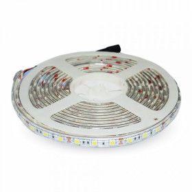 Ruban LED 5Mètres SMD5050 - 30LEDs RGB IP65 12V DC
