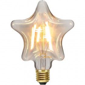 Ampoule LED E27 Filament Etoile