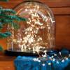Guirlande lumineuse micro LED boa avec étoiles fonctionne avec des piles