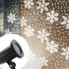 Projecteur LED Flocons de Neige Blanc Pur
